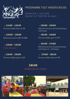 Programme tout angers bouge